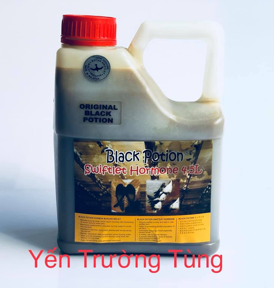 Dung Dịch Black Potion - Swiftlet Hormone 4.5L
